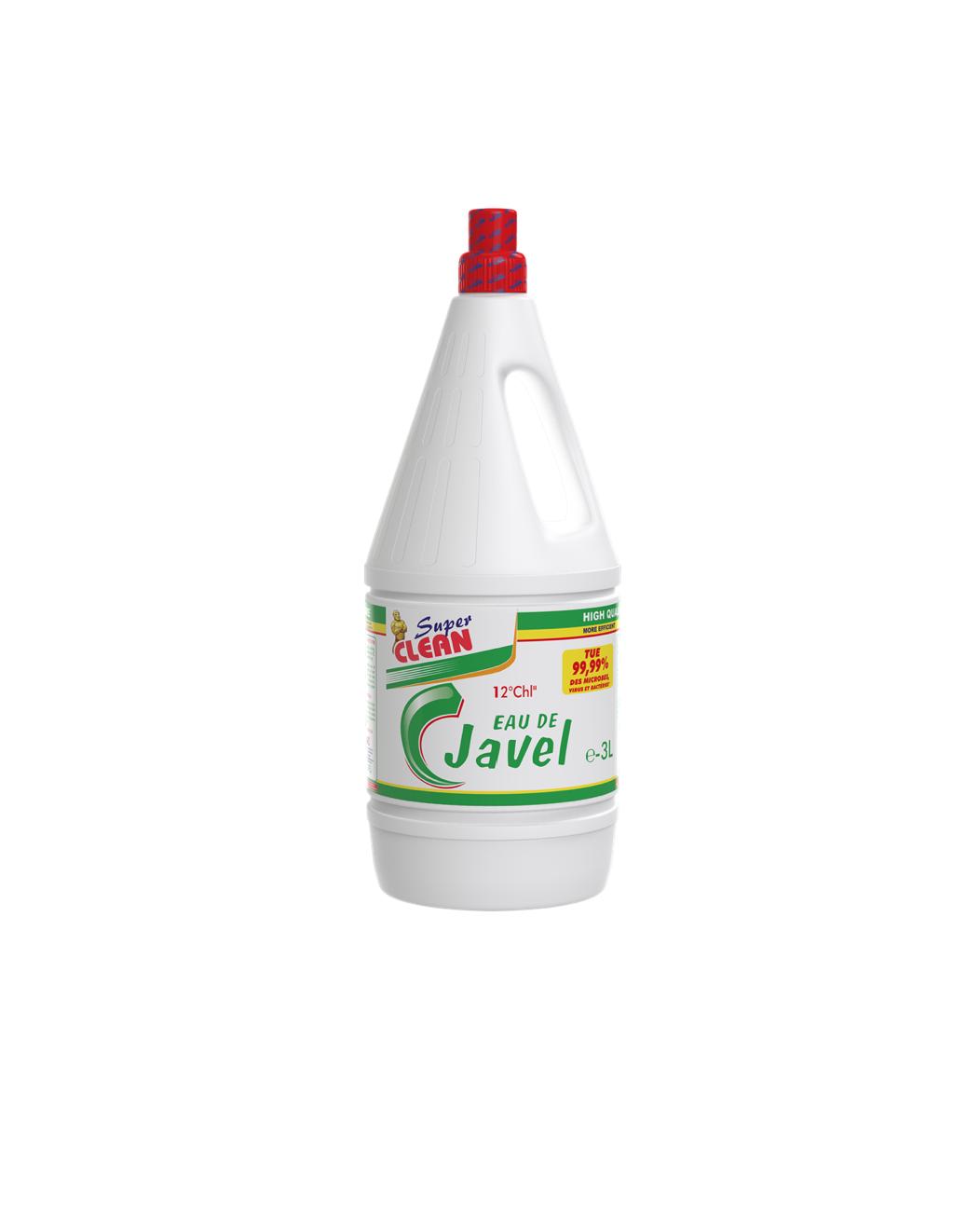 SUPER CLEAN_Eau de Javel 12° 3L