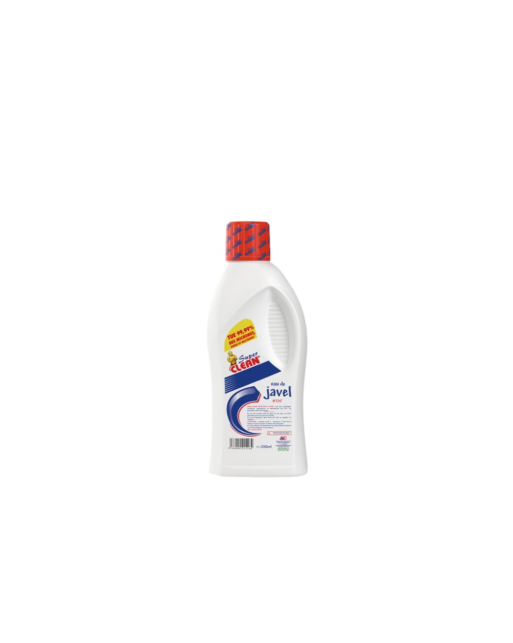 SUPER CLEAN_Eau de Javel 8° 350ml