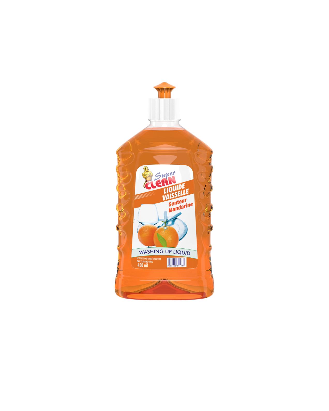 SUPER CLEAN_Liquide Mandarine 450ml_siprochim