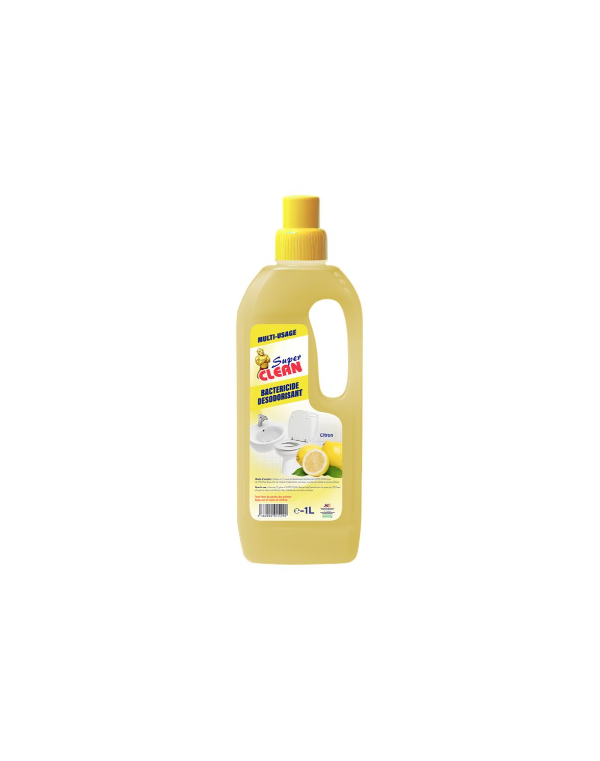 Bactéricide Super Clean Citron 1L_Siprochim