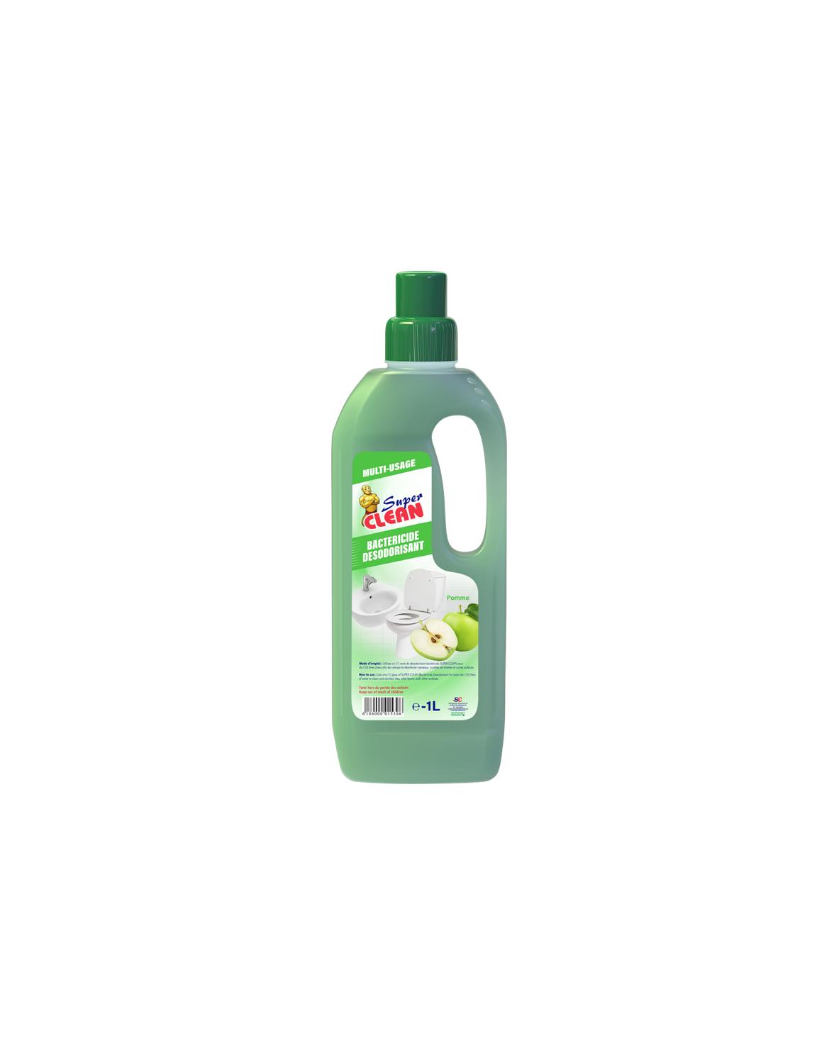 Bactéricide Super Clean Pomme Verte 1L_Siprochim